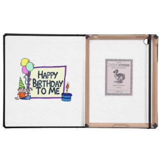 Feliz cumpleaños a mí muchacho iPad carcasa