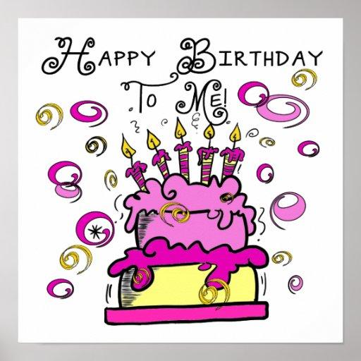 Feliz cumpleaños a mí poster