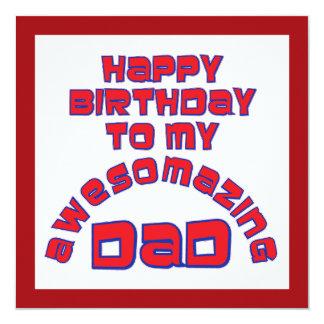 ¡Feliz cumpleaños a mi PAPÁ de AWESOMAZING! Anuncios
