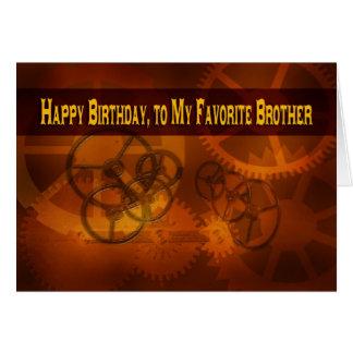 Feliz cumpleaños, a mi steampunk preferido de Brot Felicitacion