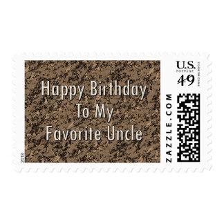 Feliz cumpleaños a mi tío preferido envio