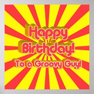 ¡Feliz cumpleaños a un individuo maravilloso! Posters