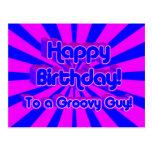 Feliz cumpleaños a un individuo maravilloso postal