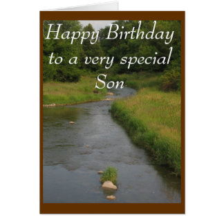 Feliz cumpleaños a un s muy especial… - Modificado Tarjeta De Felicitación