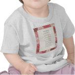 Feliz cumpleaños Accronym Print.jpeg decorativo Camisetas