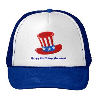 ¡Feliz cumpleaños América! Gorros