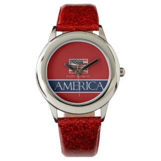 ¡Feliz cumpleaños América! Relojes