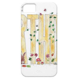 Feliz cumpleaños - arbolado de hadas iPhone 5 fundas