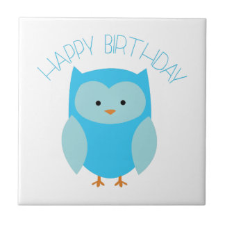 Feliz cumpleaños teja cerámica