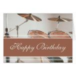 Feliz cumpleaños - batería felicitacion