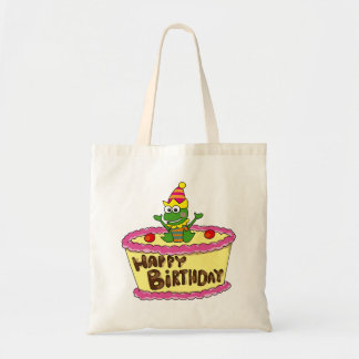 Feliz cumpleaños bolsa tela barata
