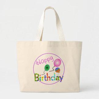Feliz cumpleaños bolsa de mano