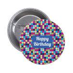 Feliz cumpleaños - botón pin