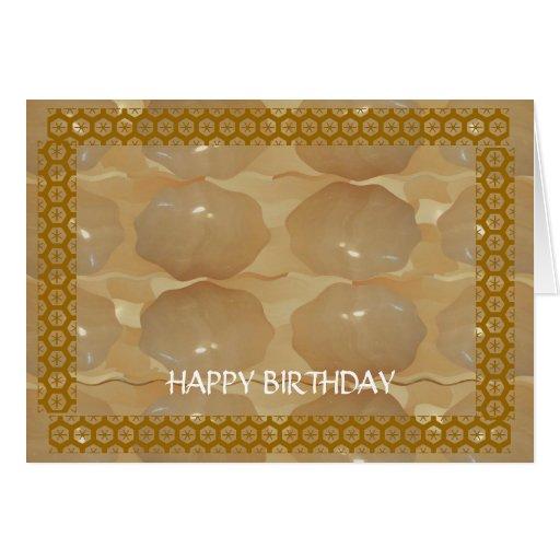 Feliz cumpleaños - cambie el texto para otras ocas tarjeta