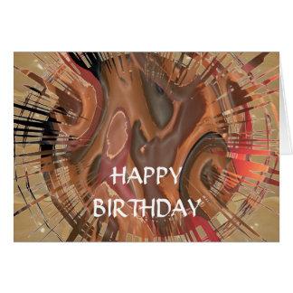 Feliz cumpleaños - cambie el texto para otras tarjeta de felicitación