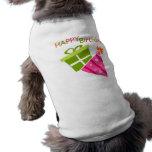Feliz cumpleaños camiseta de mascota