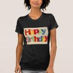 Feliz cumpleaños camisetas