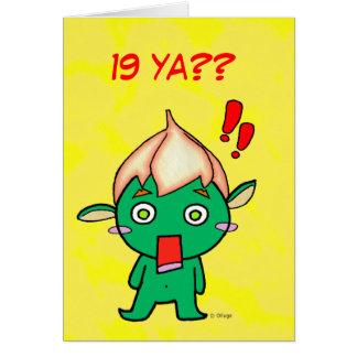 Feliz cumpleaños! greeting card