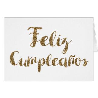Feliz Cumpleanos Card - Spanish Birthday Card