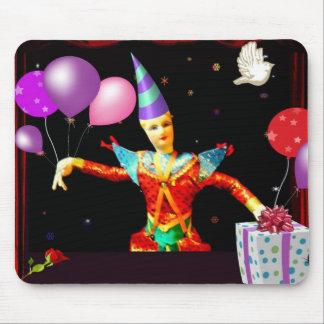 feliz cumpleaños clown1 tapete de raton