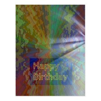 Feliz cumpleaños colección de marzo de 2012 tarjetas postales