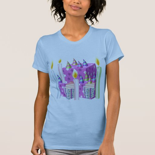 Feliz cumpleaños - compre el bulto para el fiesta camiseta