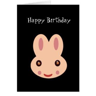 Feliz cumpleaños: Conejito Tarjetón