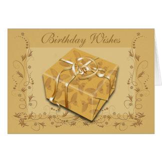 Feliz cumpleaños - cualquier persona tarjeton
