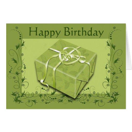 Feliz cumpleaños - cualquier persona tarjeta de felicitación