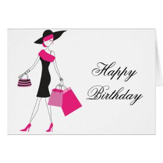 Feliz cumpleaños/cualquier tarjeta de felicitación