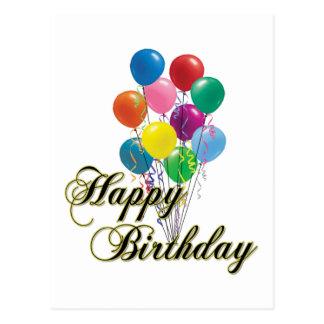 Feliz cumpleaños - D4 Tarjeta Postal