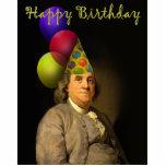 Feliz cumpleaños de Ben Franklin Esculturas Fotográficas