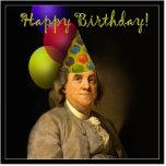 Feliz cumpleaños de Ben Franklin Esculturas Fotograficas