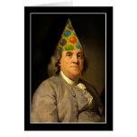 Feliz cumpleaños de Ben Franklin Felicitacion