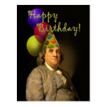 Feliz cumpleaños de Ben Franklin Postal