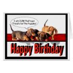Feliz cumpleaños de los perritos felicitaciones