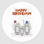 Feliz cumpleaños de Robo-x9 y de la familia Etiqueta Redonda