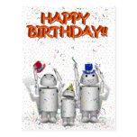 Feliz cumpleaños de Robo-x9 y de la familia Postales