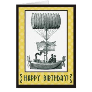 Feliz cumpleaños de Steampunk Felicitaciones