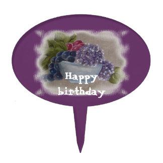feliz cumpleaños decoración para tarta