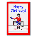 Feliz cumpleaños del hockey felicitaciones