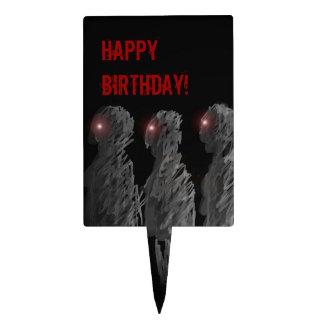 ¡Feliz cumpleaños del zombi! Primero de la torta Decoraciones Para Tartas
