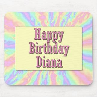 Feliz cumpleaños Diana Tapetes De Ratones