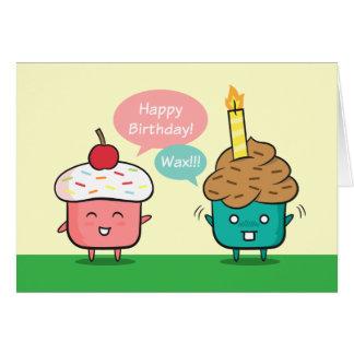 Feliz cumpleaños divertido - aflicciones de la tarjeta de felicitación