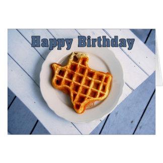 Feliz cumpleaños el 24 de agosto galleta de Teja Felicitacion