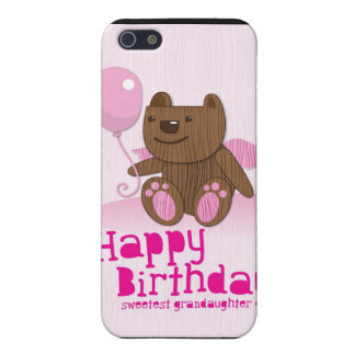 Feliz cumpleaños el Grandaughter más dulce iPhone 5 Fundas