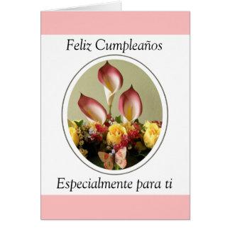 Feliz Cumpleaños especialmente para ti Card