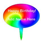 Feliz cumpleaños figuras de tarta