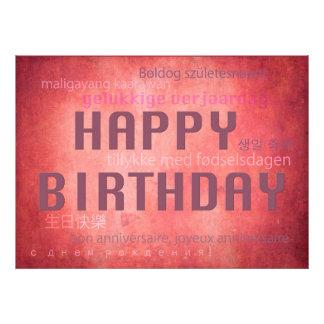 Feliz cumpleaños cojinete