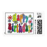 Feliz cumpleaños franqueo